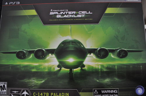 Tom Clancy's Splinter Cell: Blacklist Paladin Multi-Mission Aircraft Edition Playstation 3 PS3