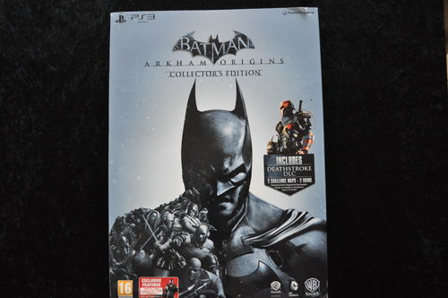 Batman Arkham Origins Collectors Edition Playstation 3 PS3