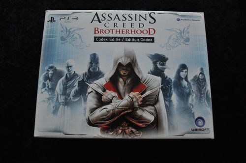 Assassins Creed Brotherhood Codex Edition/Edition Codex Playstation 3 PS3