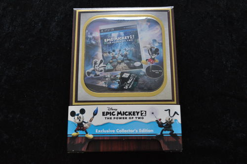Disney Epic Mickey 2 The Power Of Two Exclusive Collectors Edition Playstation 3 PS3