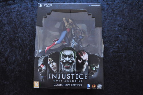 Injustice Gods Among Us Collector's Edition Playstation 3 PS3